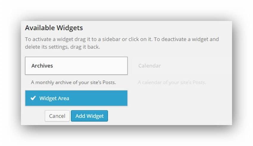 widget là gì? thao tác với widget