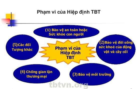 Phạm vi hiệp định TBT